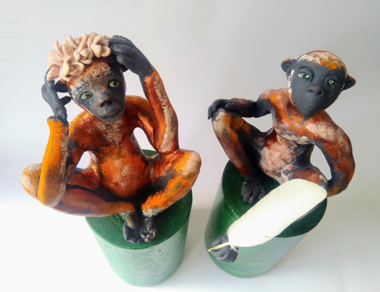 Зеленооките маймунки от остров Ява