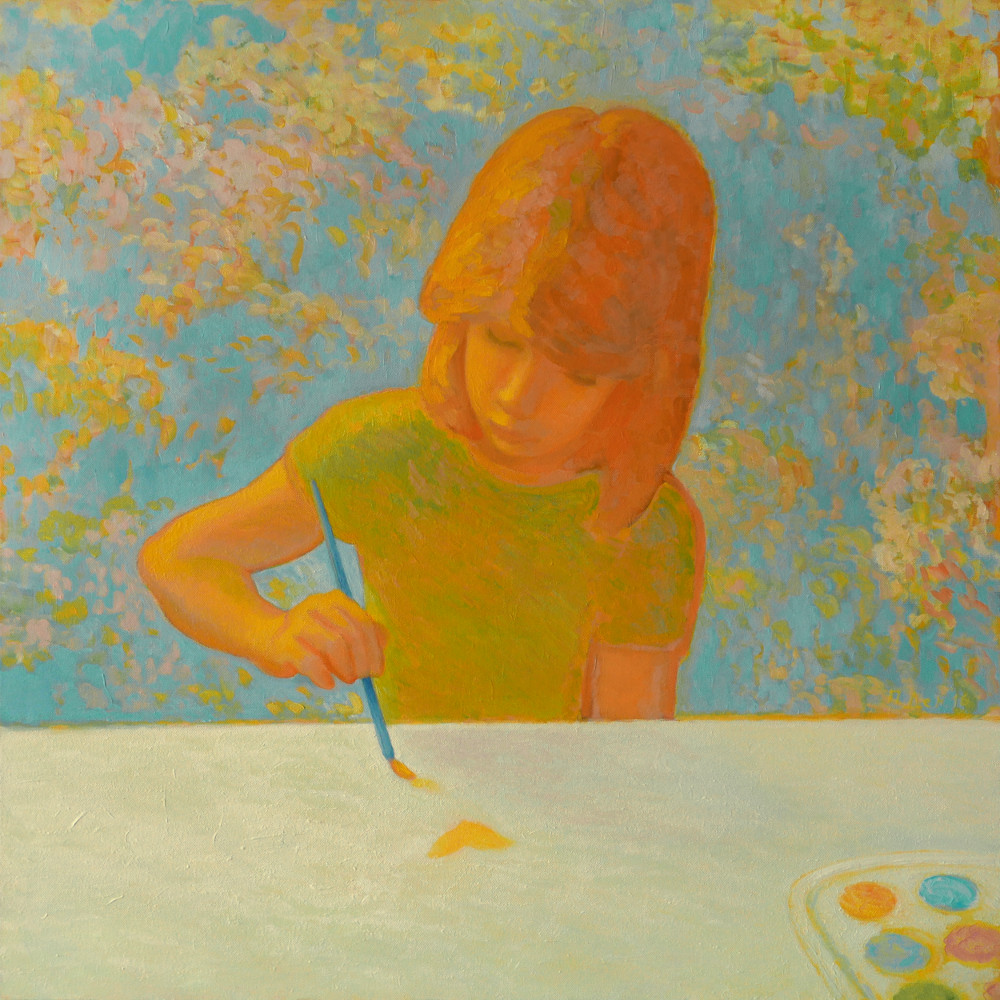 Детето рисува
