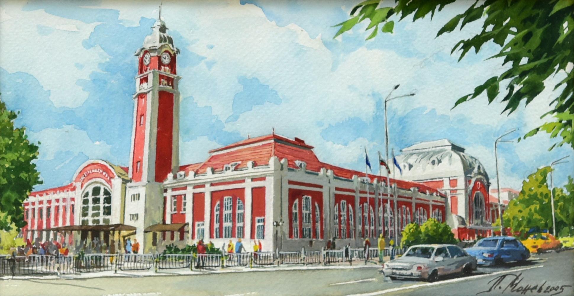 Варна гарата