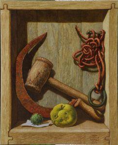 Сърп и дървен чук