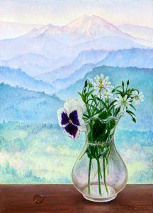 Девет планини преминах, цвете да ти донеса