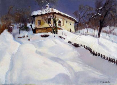 Боженци - зима