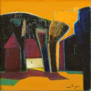 Пейзаж в жълто