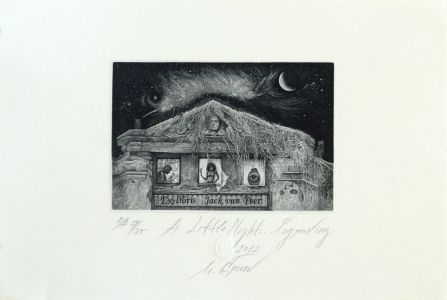 A little Night Engraving