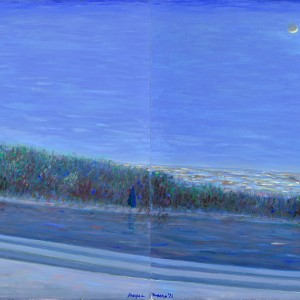 Experienced, diptych