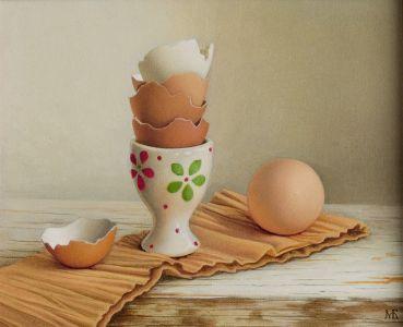 Натюрморт с яйца