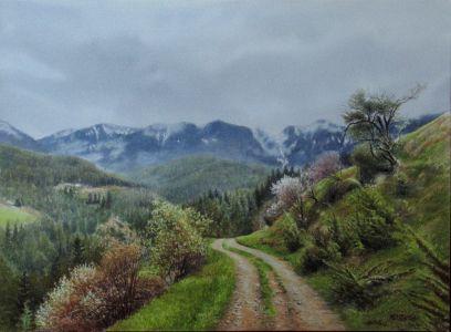 Road through the mountain
