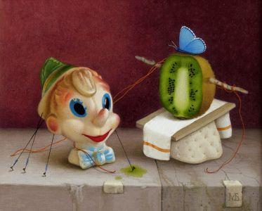 Пинокио и синята фея